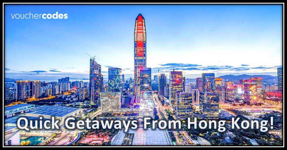 quick getaways from hong kong